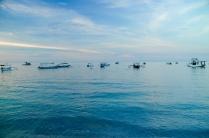 Blaue Stunde am Strand von Pemuteran