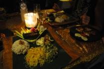 Lecker balinesisches Dinner!