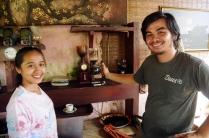 Nett und hilfsbereit diese Balinesen.