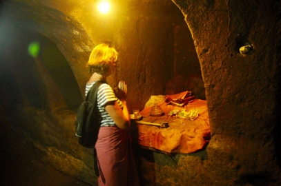 Goa Gajah - Moni in der Elefantenhöhle