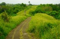 Weg über den Grat durch die Reisterrassen