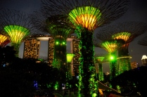 ...im Gardens by the Bay...