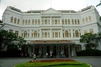 Das Raffles Hotel - hier wurde der Singapore Sling geboren.