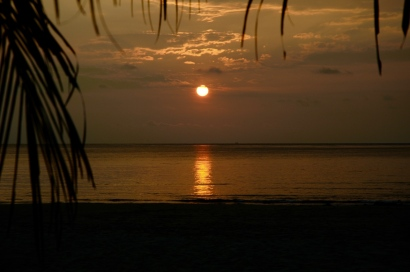Sonnenaufgang am Juara Beach
