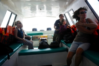 Überfahrt mit dem Schnellboot nach Perhentian Island