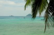 Kristallklares Wasser um die Perhentian Islands