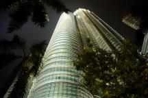 Die Petronas Towers...