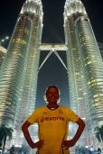 Petronas Towers Kuala Lumpur und Andi