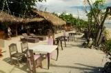 Liebevoll mit Korallen gestaltetes Lokal