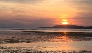 Da hinter Gili Meno ist Bali.